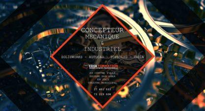 Séance De Présentation Gratuite: Concepteur en Mécanique & Industriel