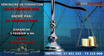 Séminaire de Formation Loi de Finance 2019