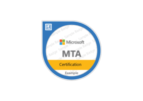 certification microsoft MTA